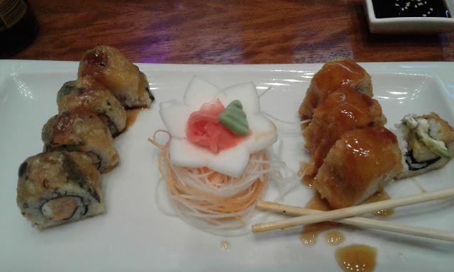 Å skrive om sushi